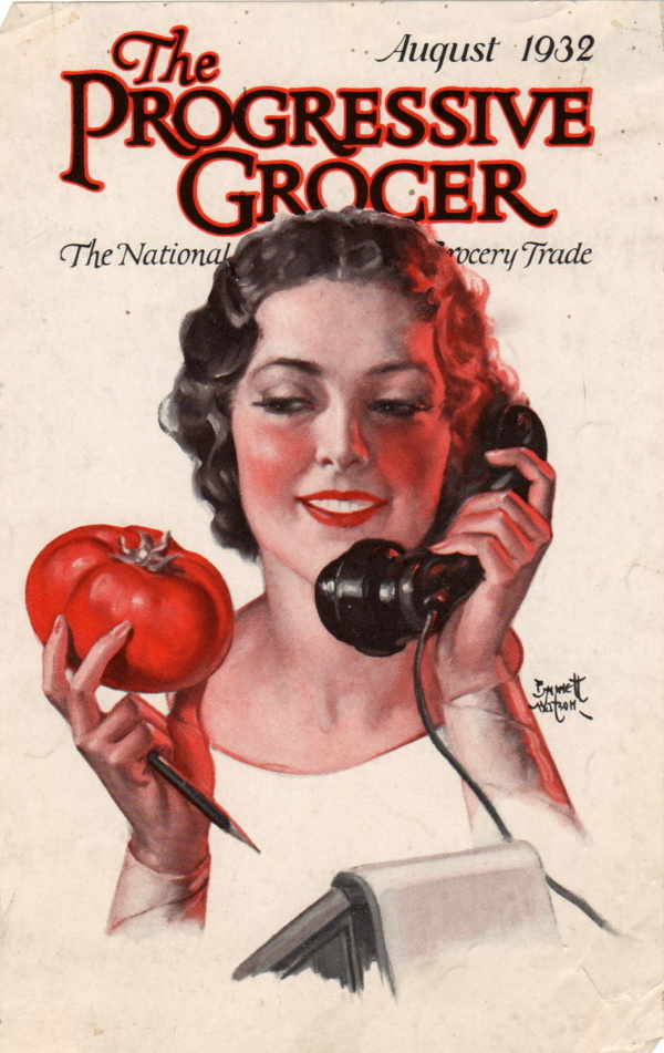 August 1932 Progressive Grocer