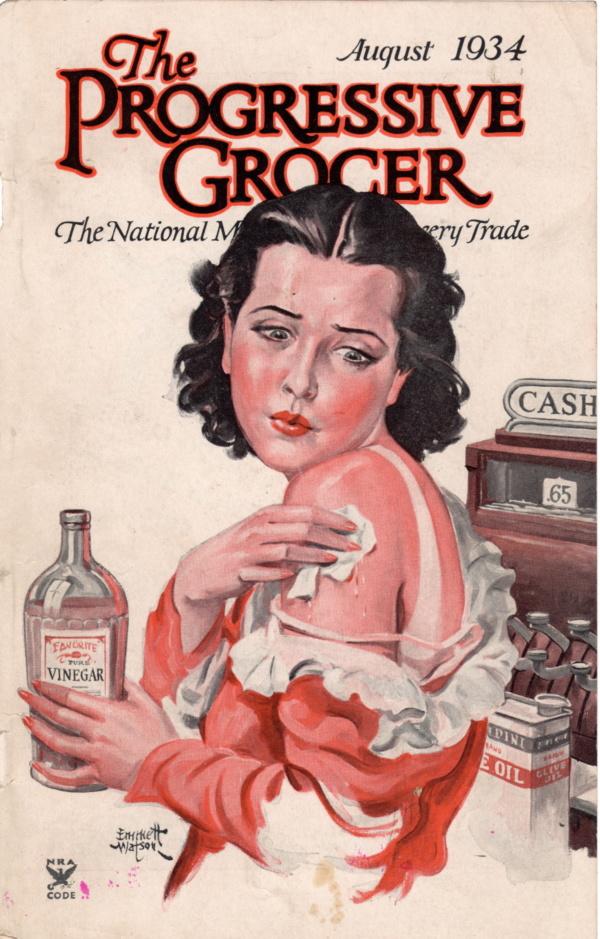 August 1934 Progressive Grocer