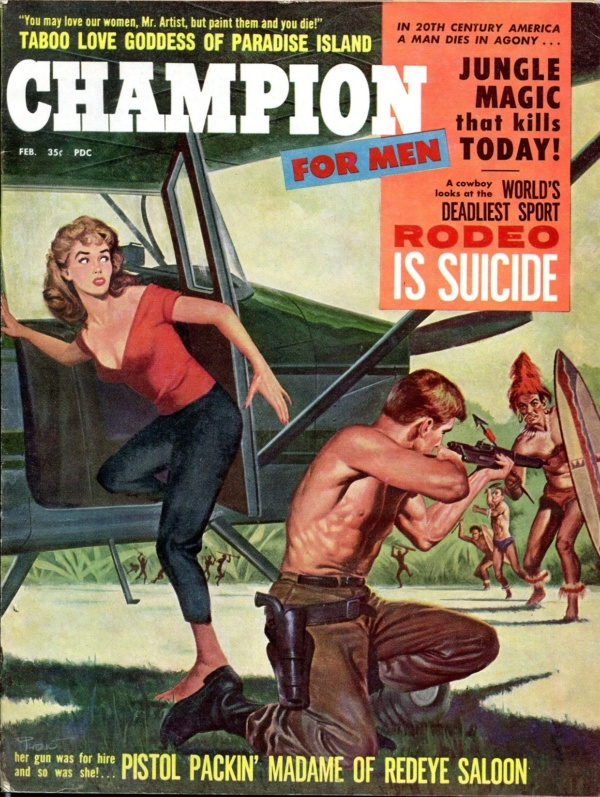 Champion For Men February 1960