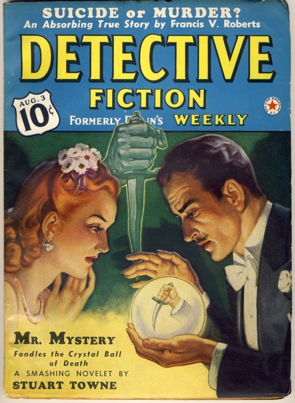 DETECTIVE FICTION - August 3 1940