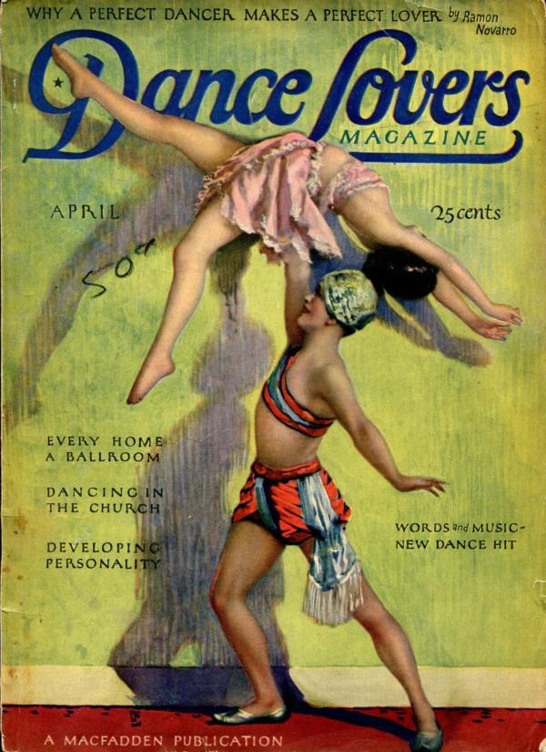 Dance Lovers Magazine April 1927