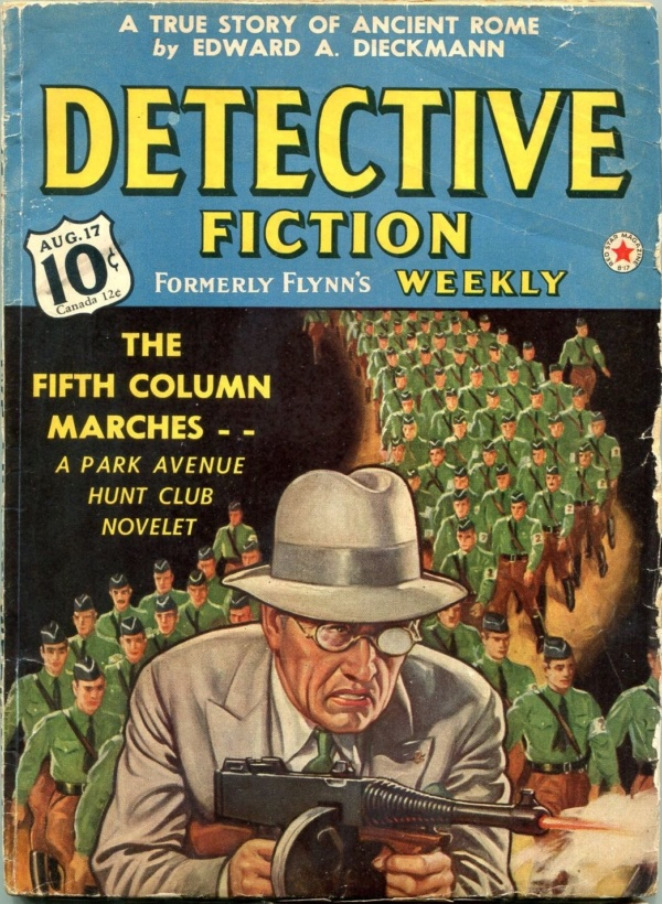 Detective Fiction Weekly August 17 1940