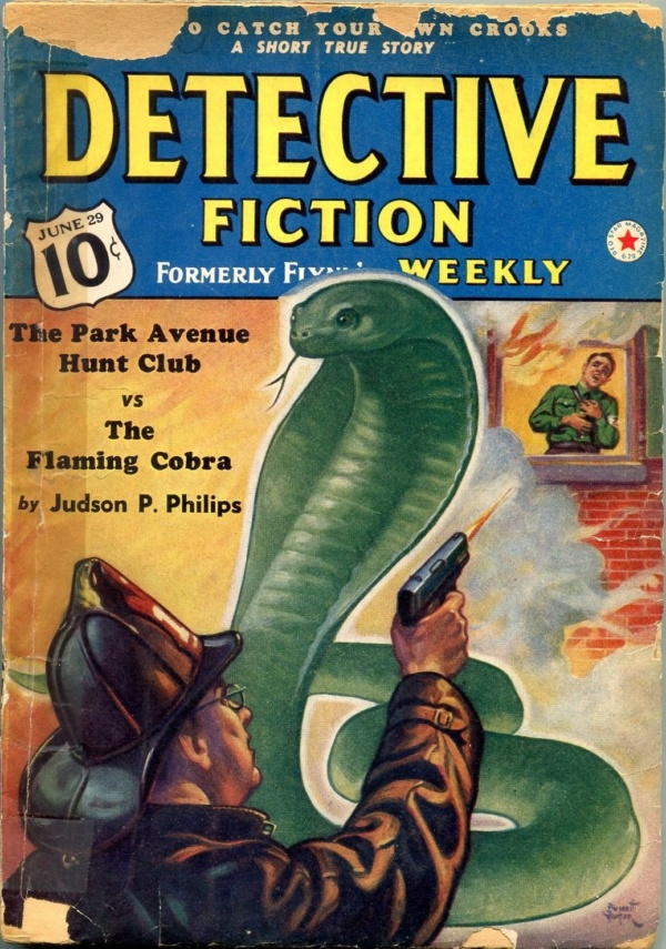 Detective Fiction Weekly June 29 1940