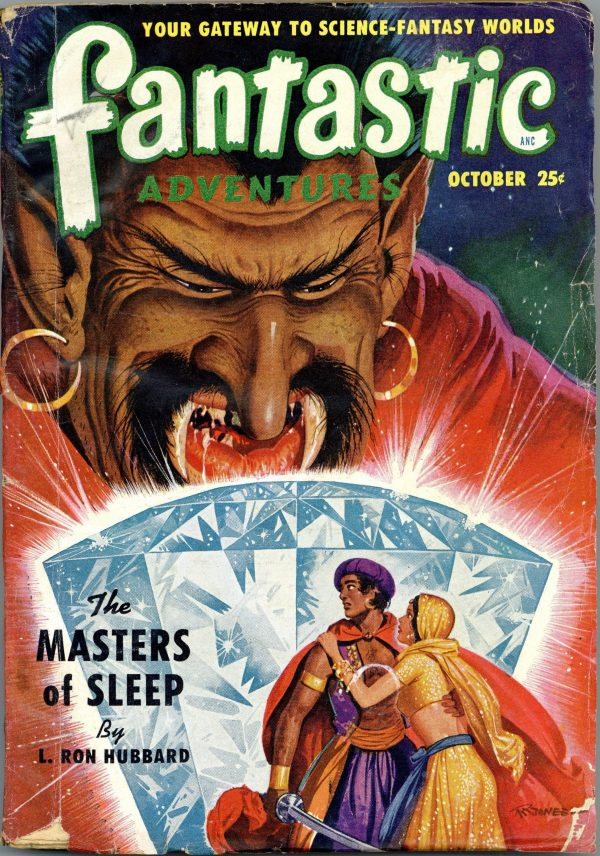 Fantastic Adventures 1950 October
