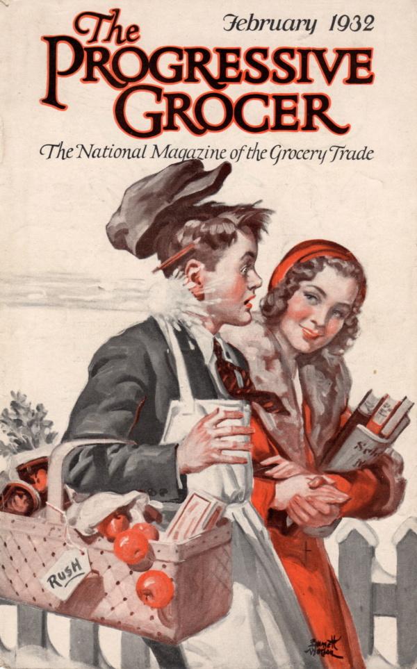 February 1932 Progressive Grocer