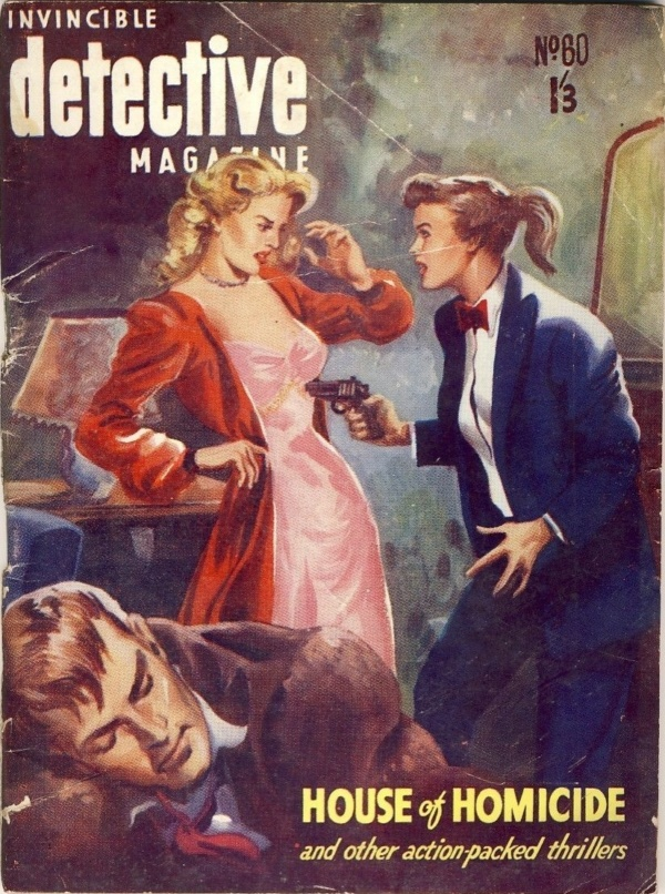 INVINCIBLE DETECTIVE MAGAZINE - September 1954