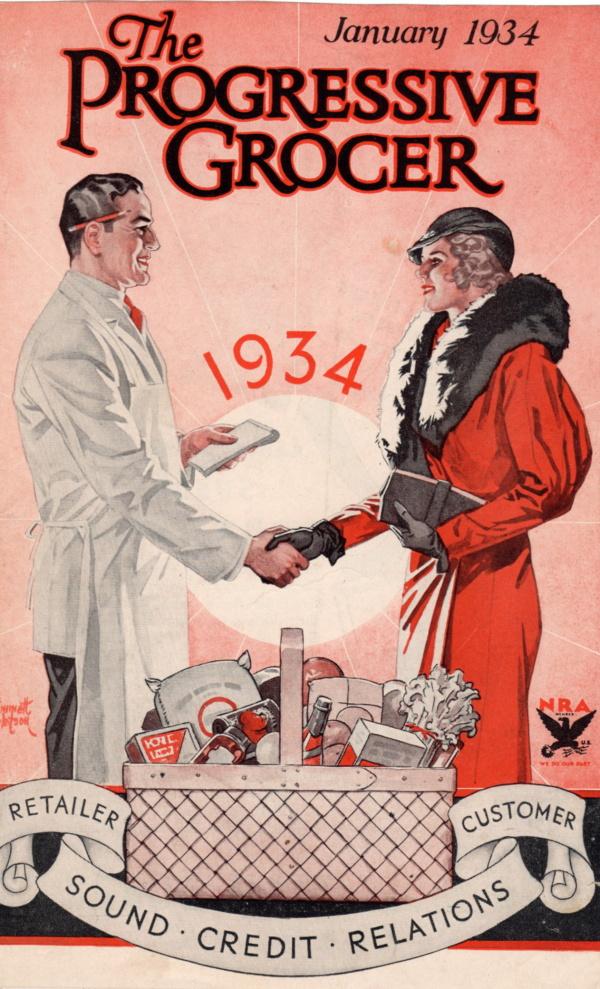 January 1934 Progressive Grocer