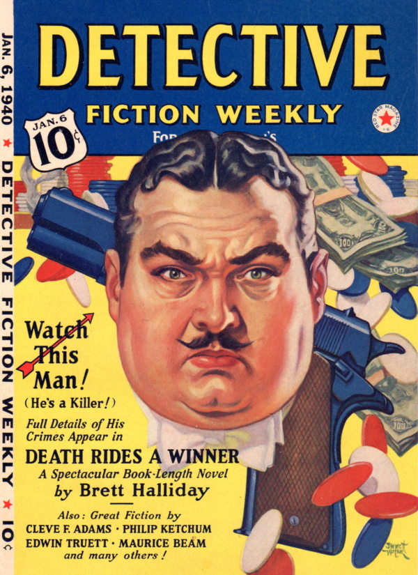 January 6, 1940 Detective Fiction