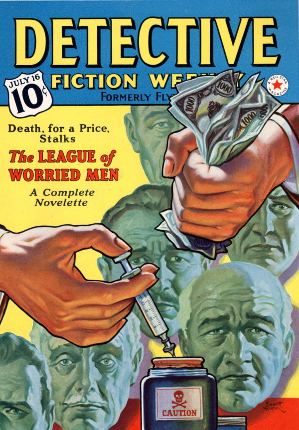 July 16, 1938 Detective Fiction