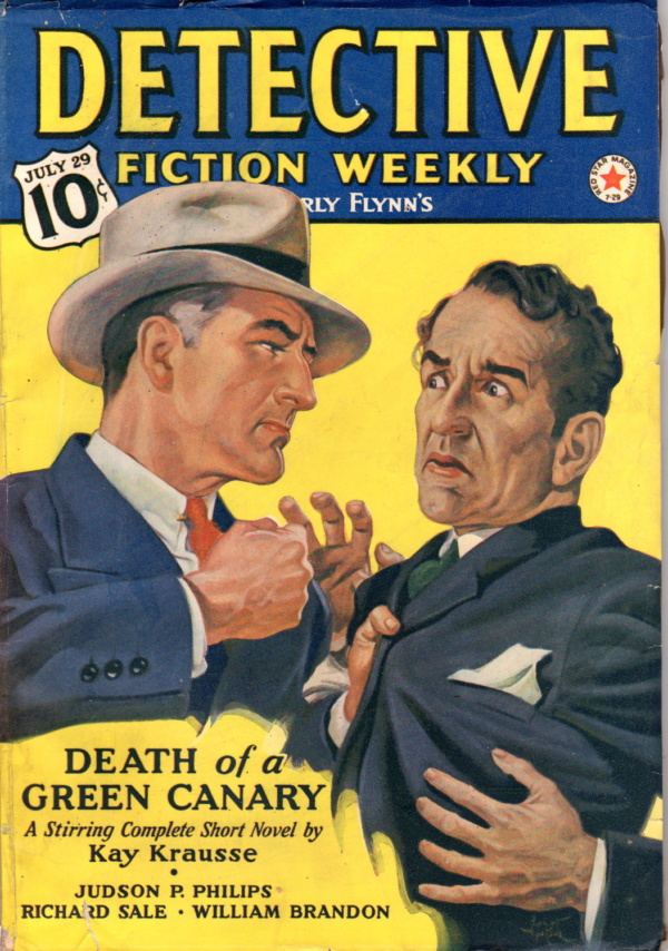 July 29, 1939 Detective Fiction