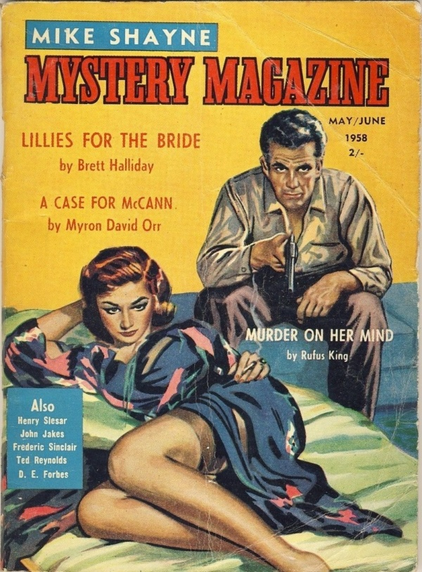 MIKE SHAYNE MYSTERY MAGAZINE - May June 1958