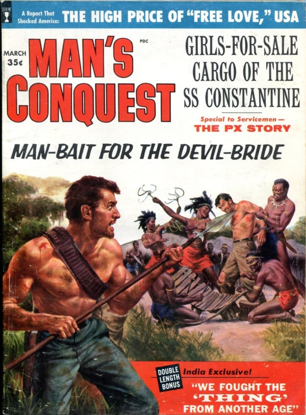 Man's Conquest March 1960