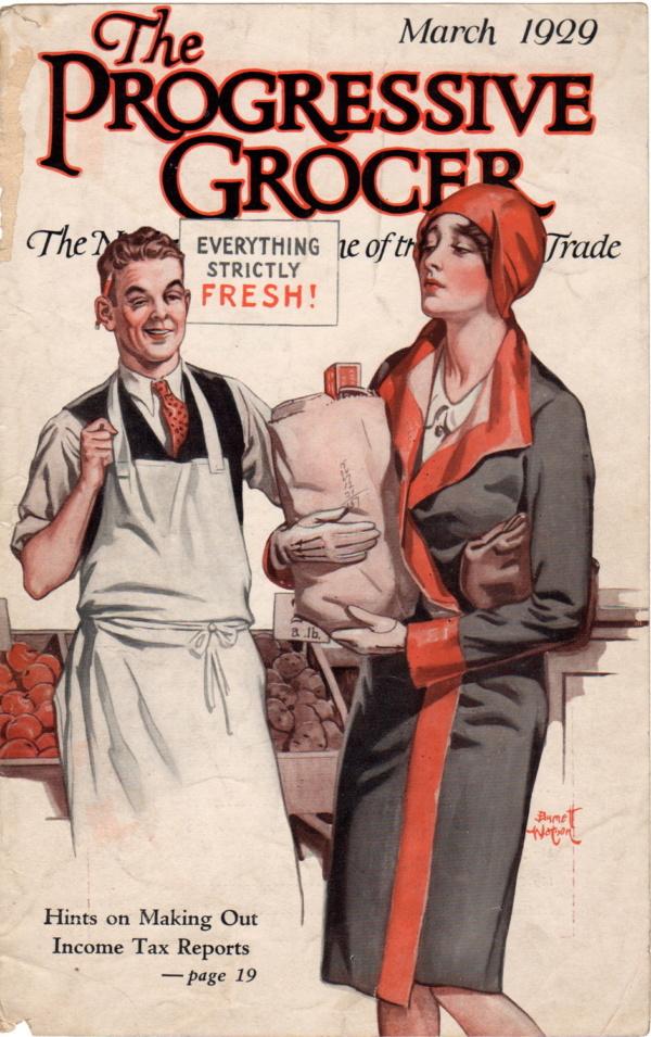 March 1929 Progressive Grocer