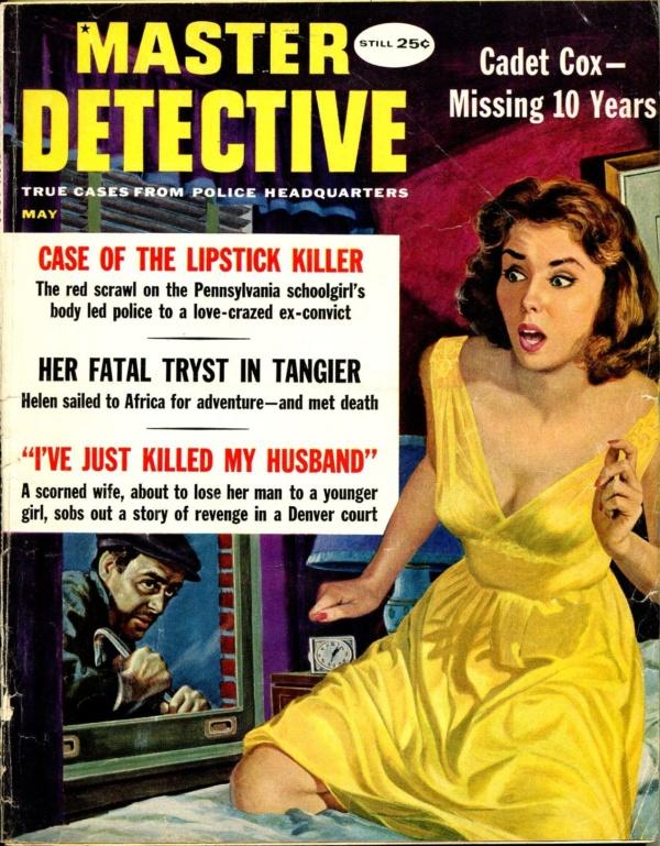 Master Detective May 1960