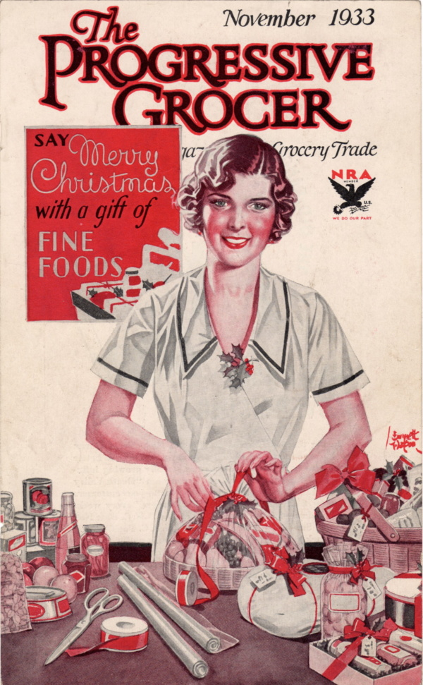 November 1933 Progressive Grocer
