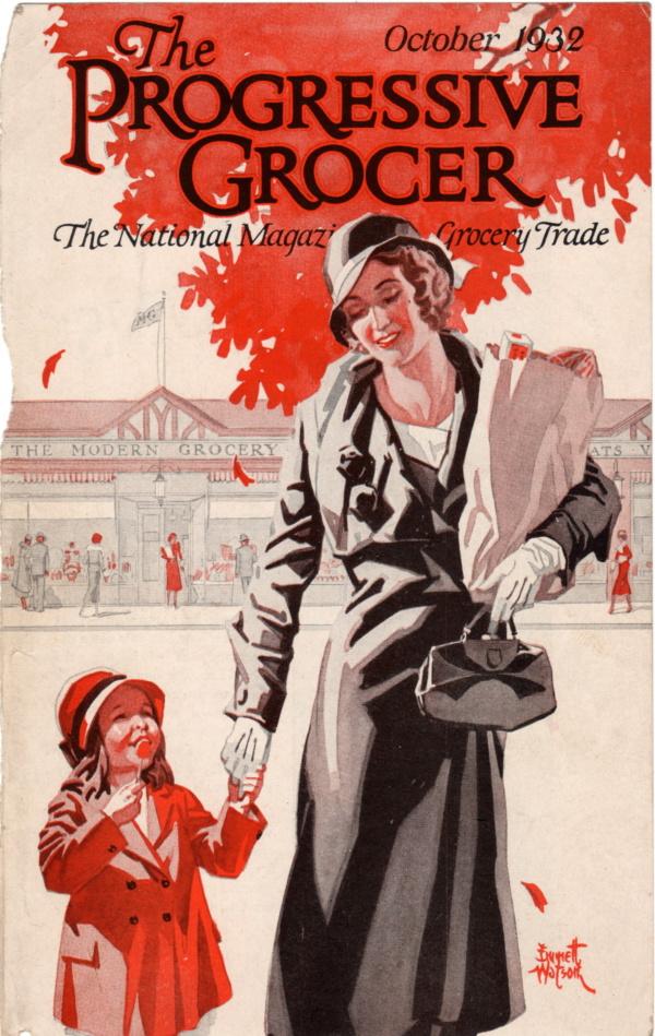 October 1932 Progressive Grocer
