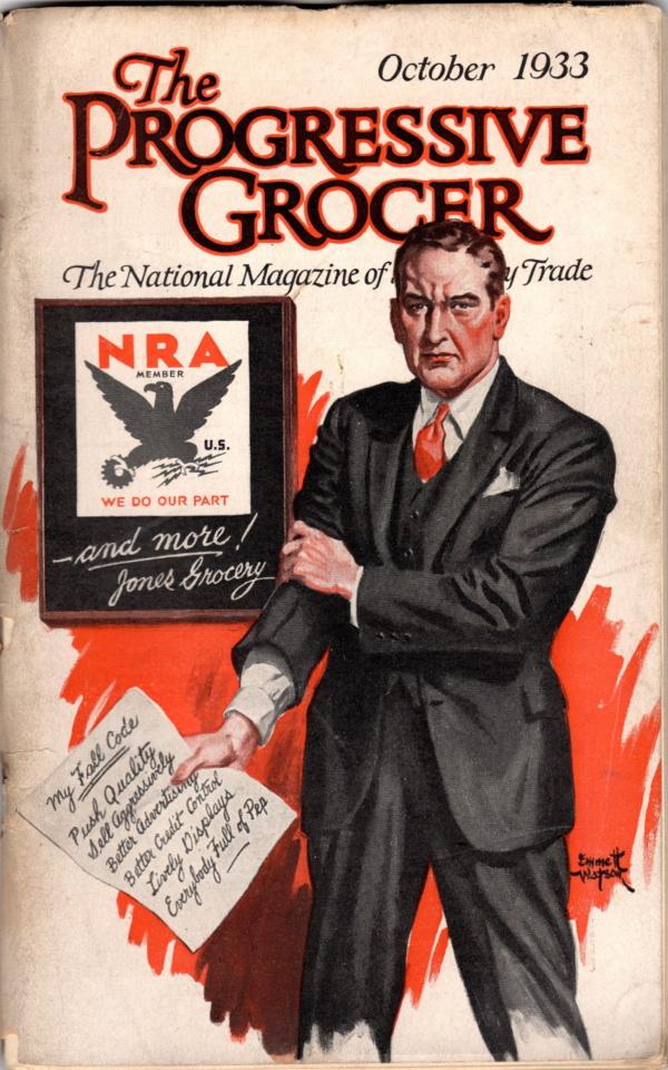 October 1933 Progressive Grocer
