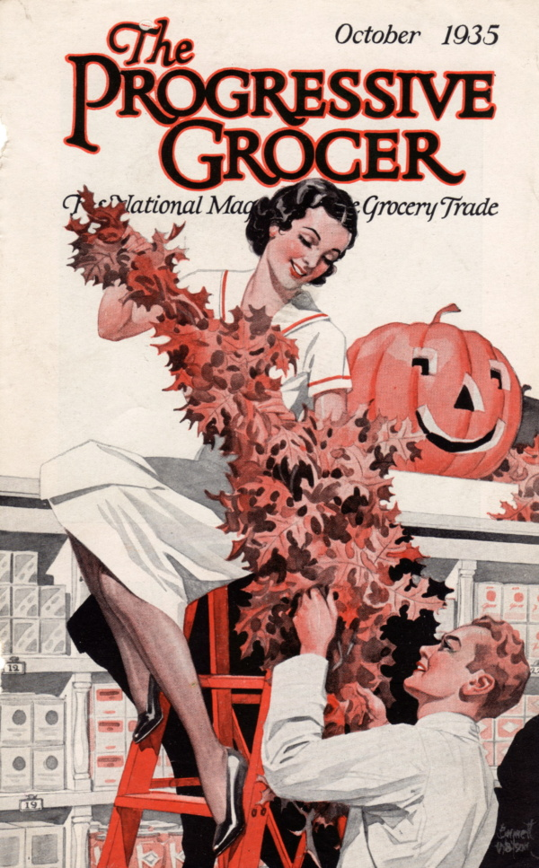 October 1935 Progressive Grocer