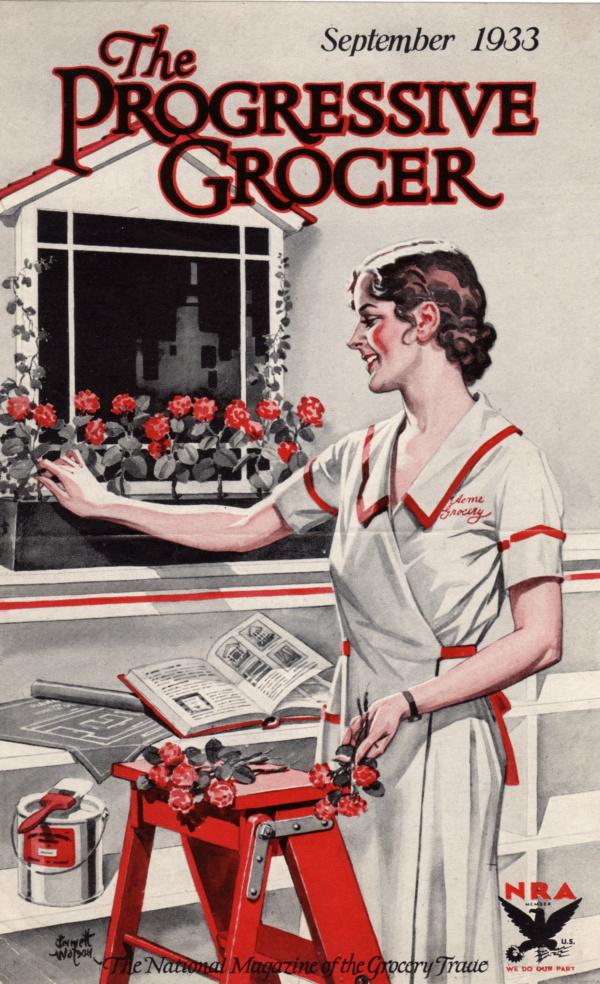 September 1933 Progressive Grocer