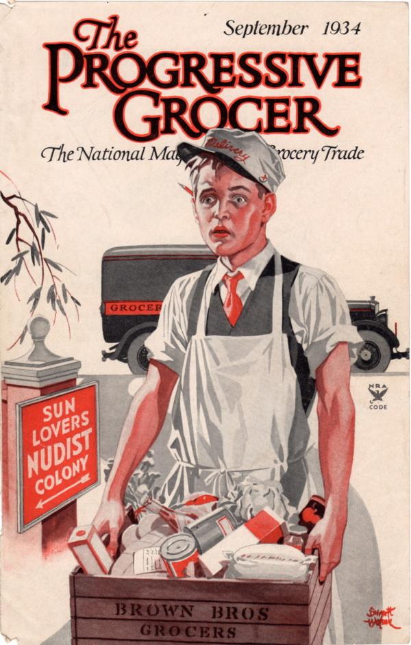 September 1934 Progressive Grocer