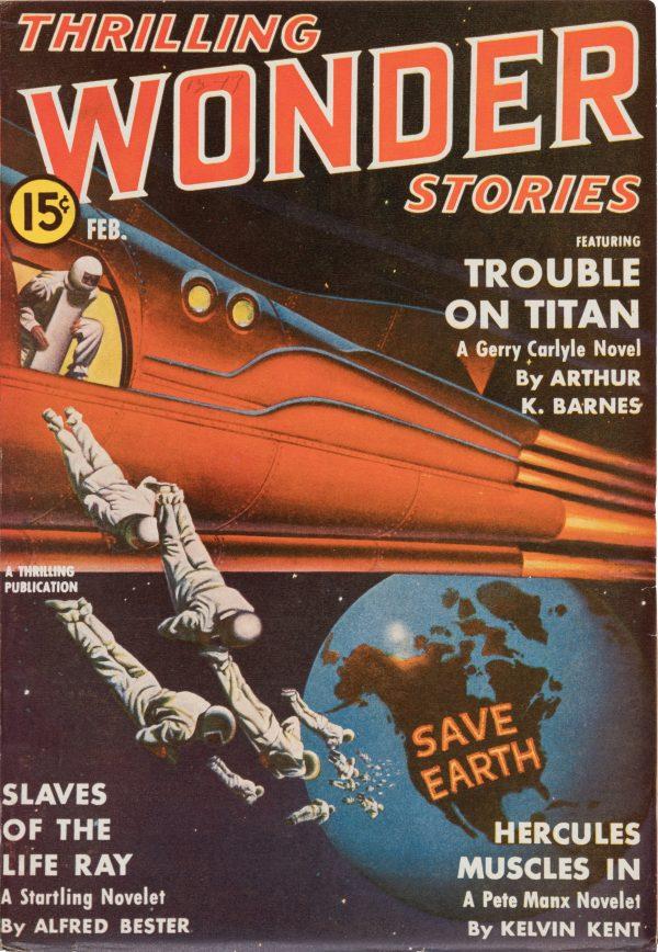 Thrilling Wonder - February 1941