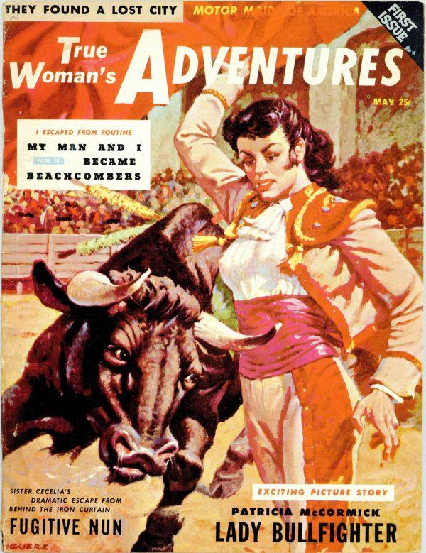 True Woman's Adventures Magazine May 1956