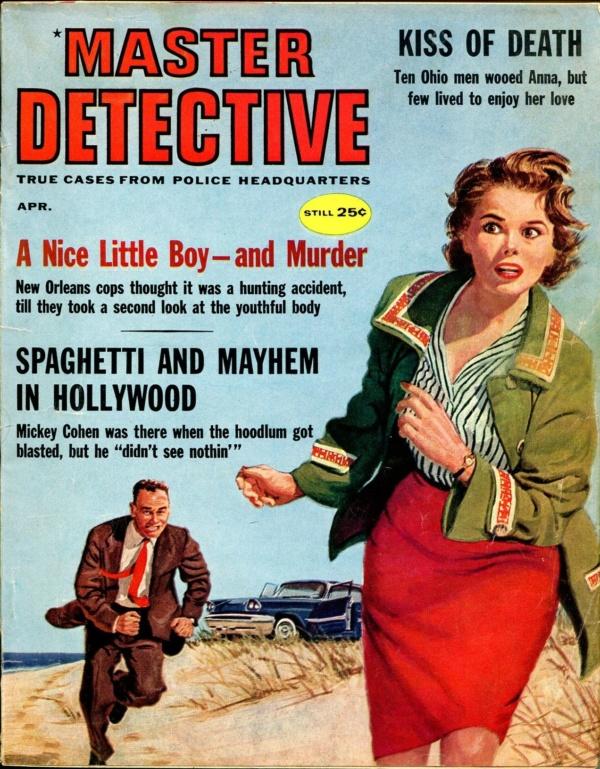 Master Detective April 1960