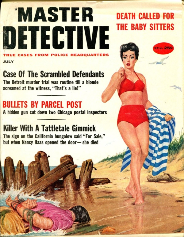 Master Detective July 1960