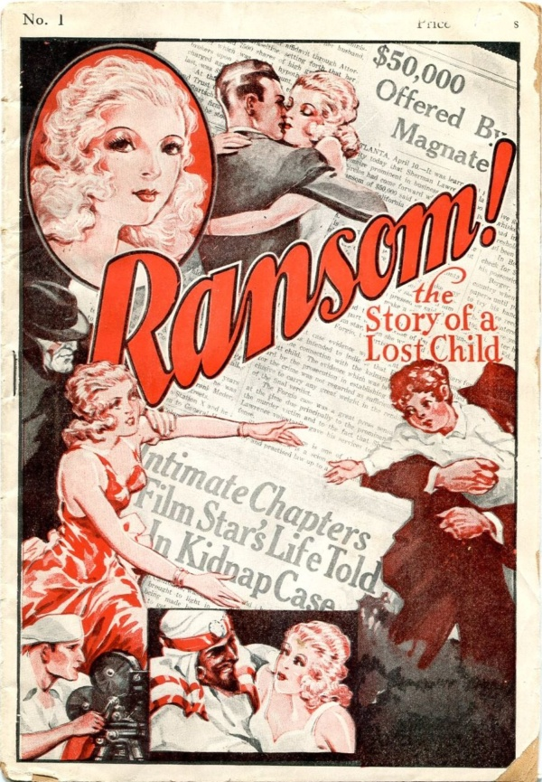 Ransom! Issue #1 January 1933