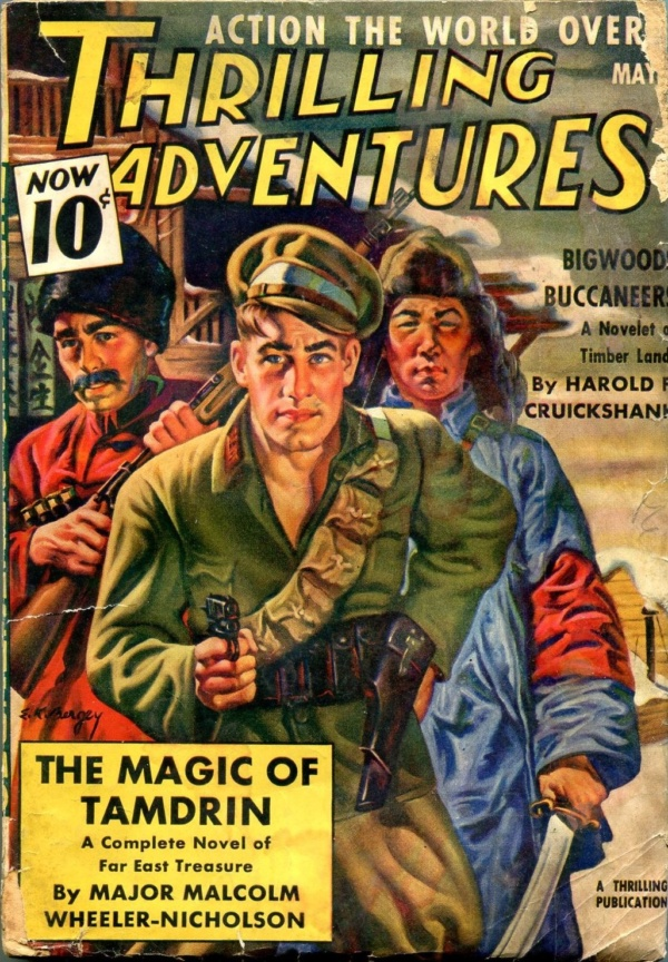 Thrilling Adventures May 1939