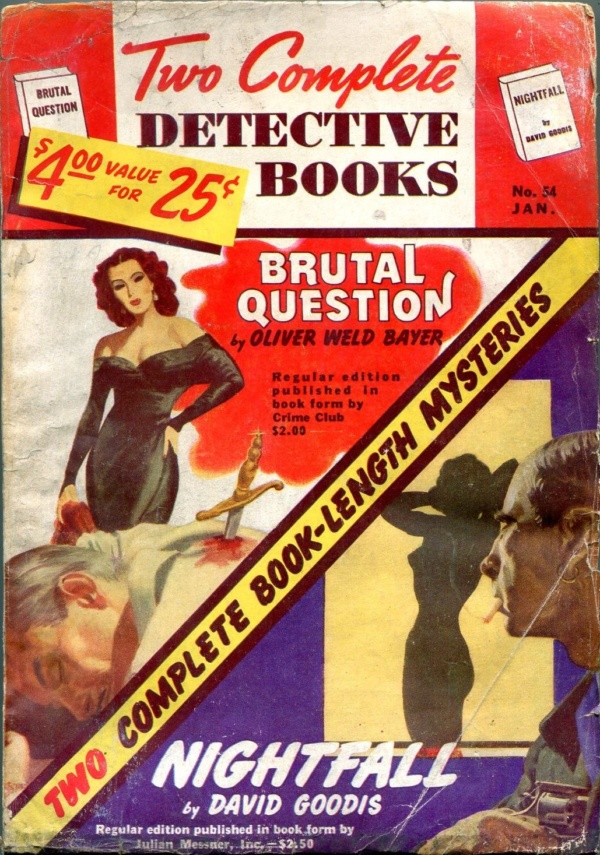Two Complete Detective Books January 1949