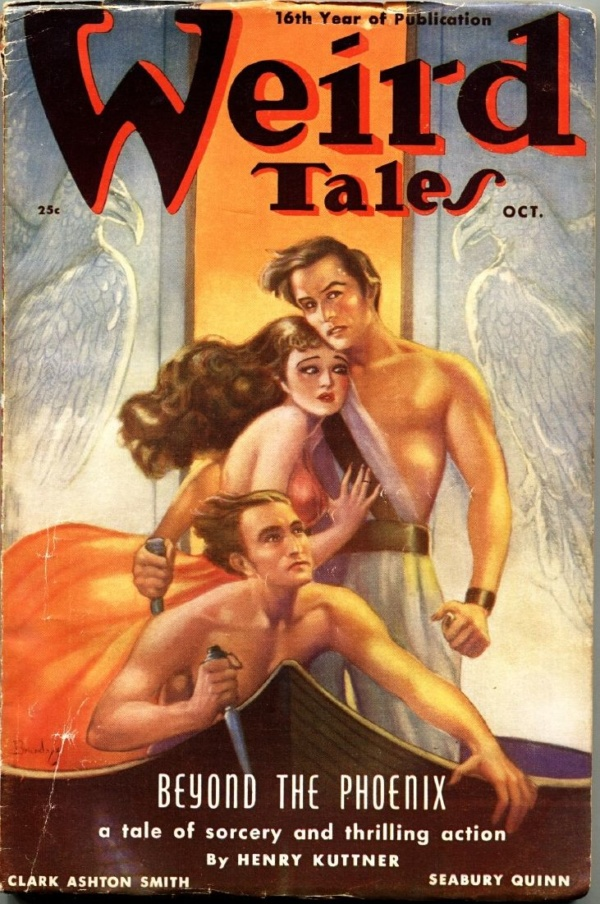 Weird Tales October 1938