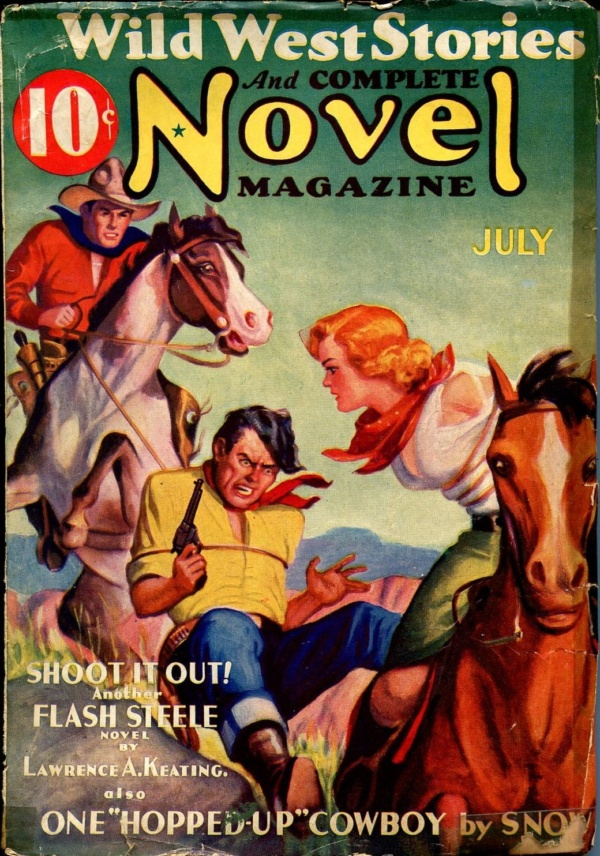 Wild West Stories And Complete Novel July 1936