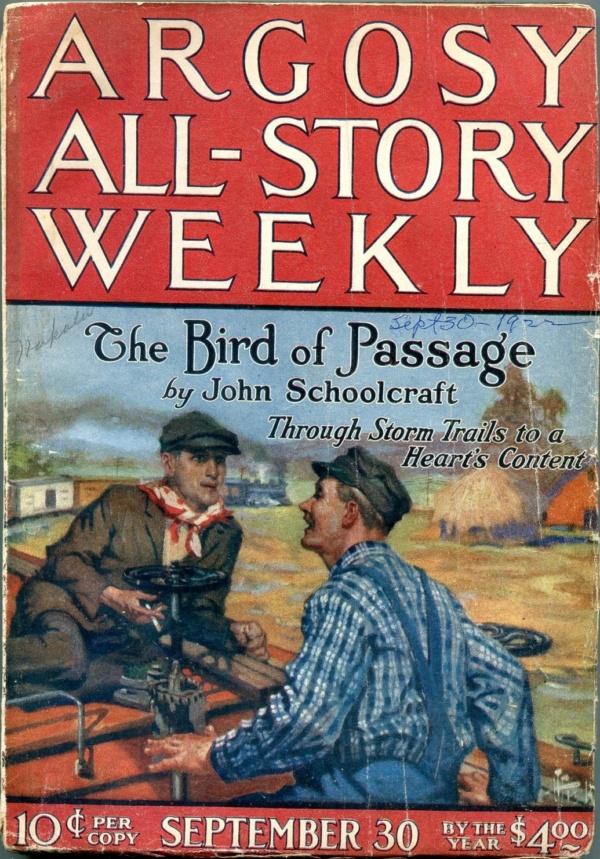 Argosy All-Story Weekly September 30 1922