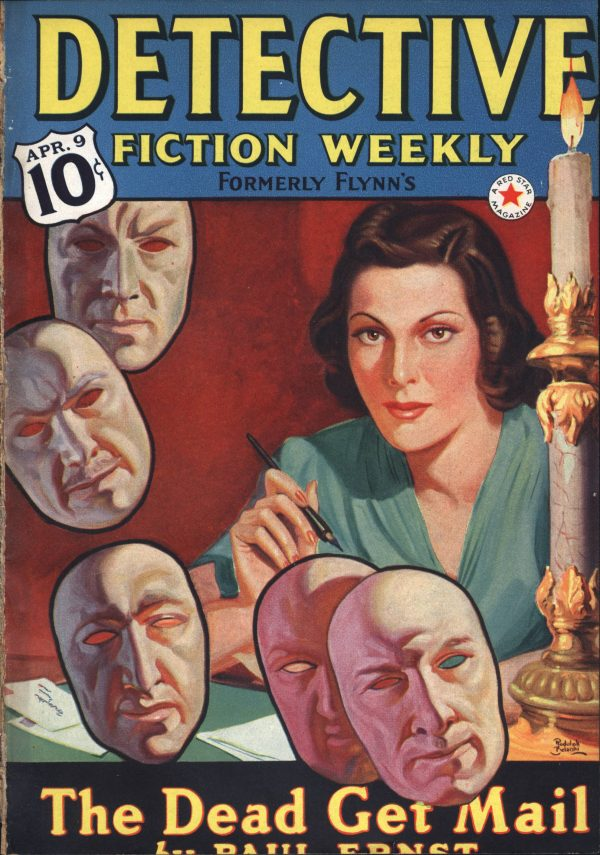 Detective Fiction Weekly April 9 1938