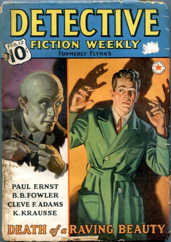 Detective Fiction Weekly February 12 1938