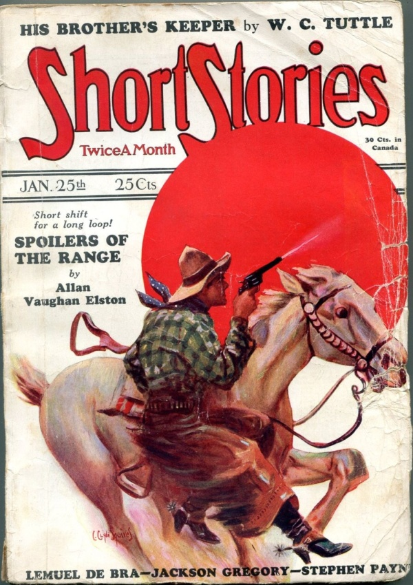 Short Stories January 25 1928