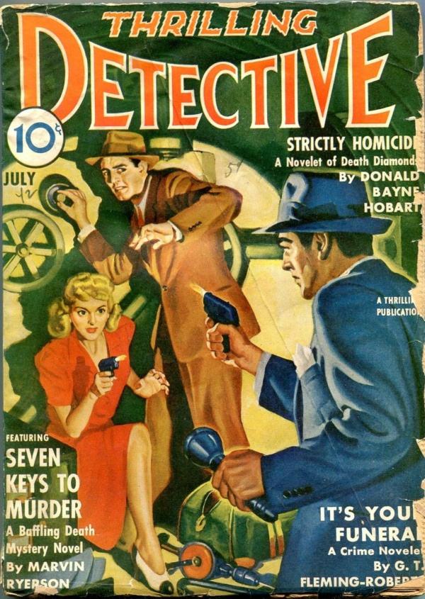 Thrilling Detective July 1942