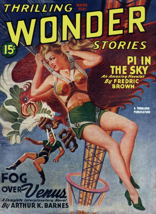 Thrilling Wonder Stories Winter 1945