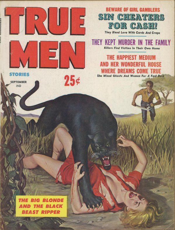 True Men Stories September 1961