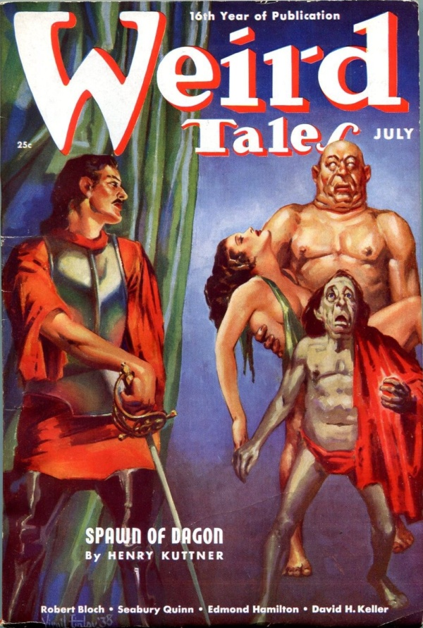 Weird Tales July 1938