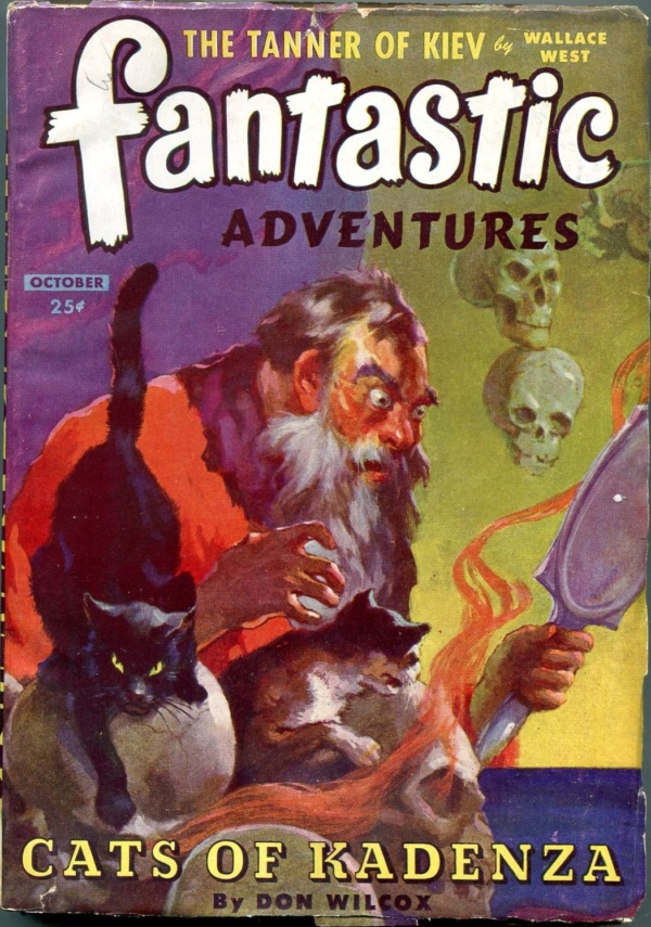 Fantastic Adventures October 1944