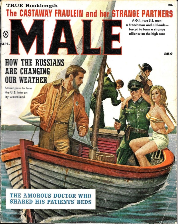 MALE MAGAZINE SEPTEMBER 1960