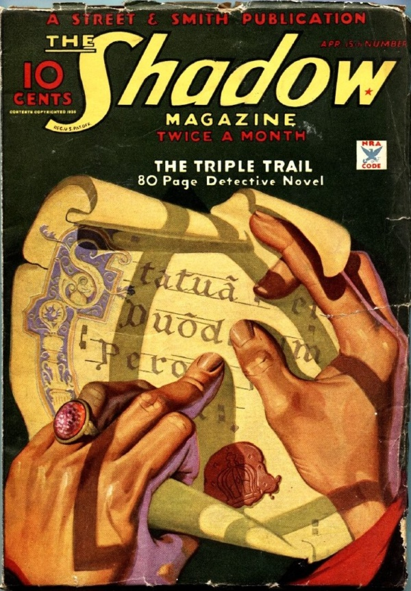 Shadow April 15 1935