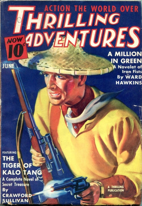 Thrilling Adventures June 1938