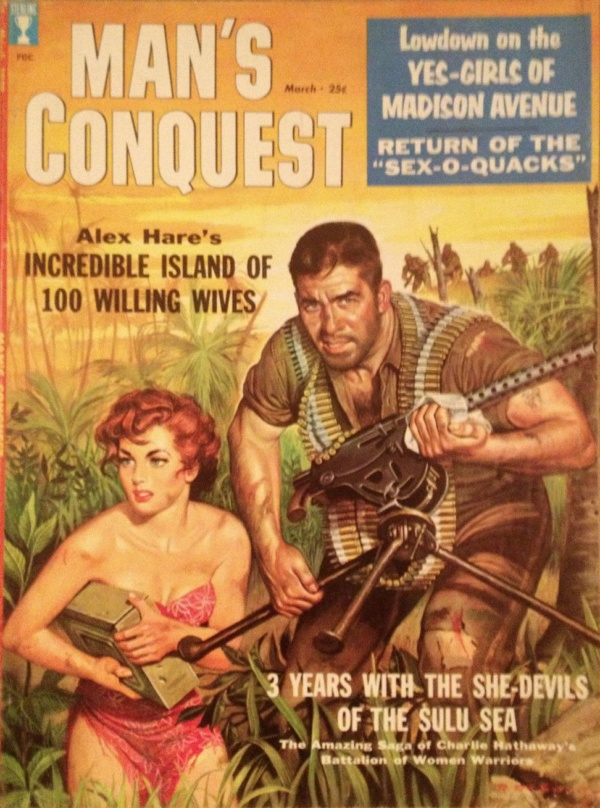 Man's Conquest March 1959