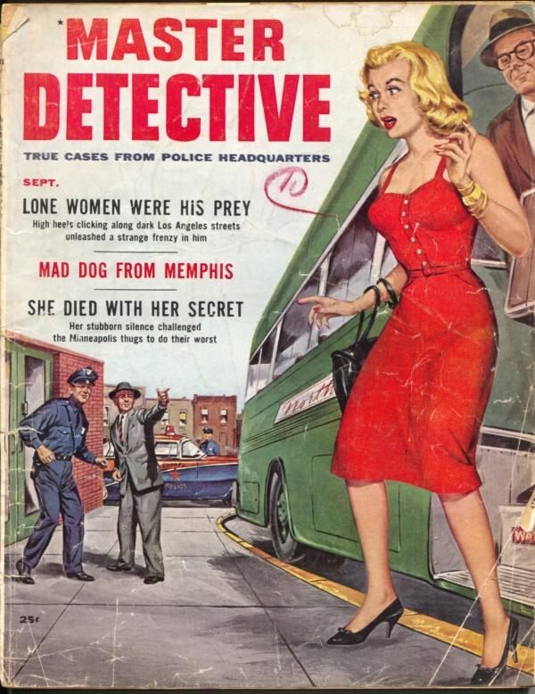 Master Detective September 1958