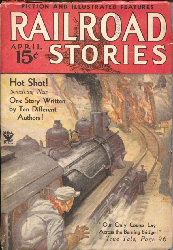Railroad Stories April 1934