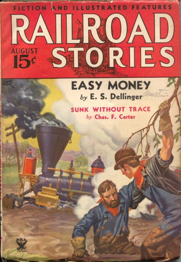Railroad Stories August 1934