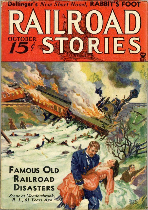 Railroad Stories Magazine October 1934